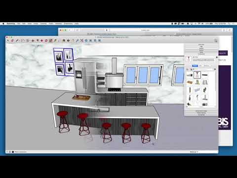 SketchUp KBIS buffer A01   Kitchen