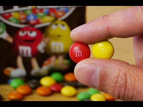 You CAN do it with M&Ms too!!