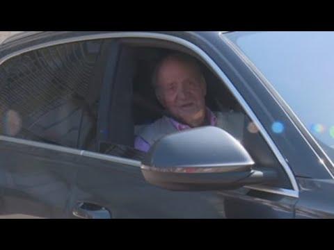 """O rei Juan Carlos: """"Atópome fenomenal cunhas tuberías novas"""""""