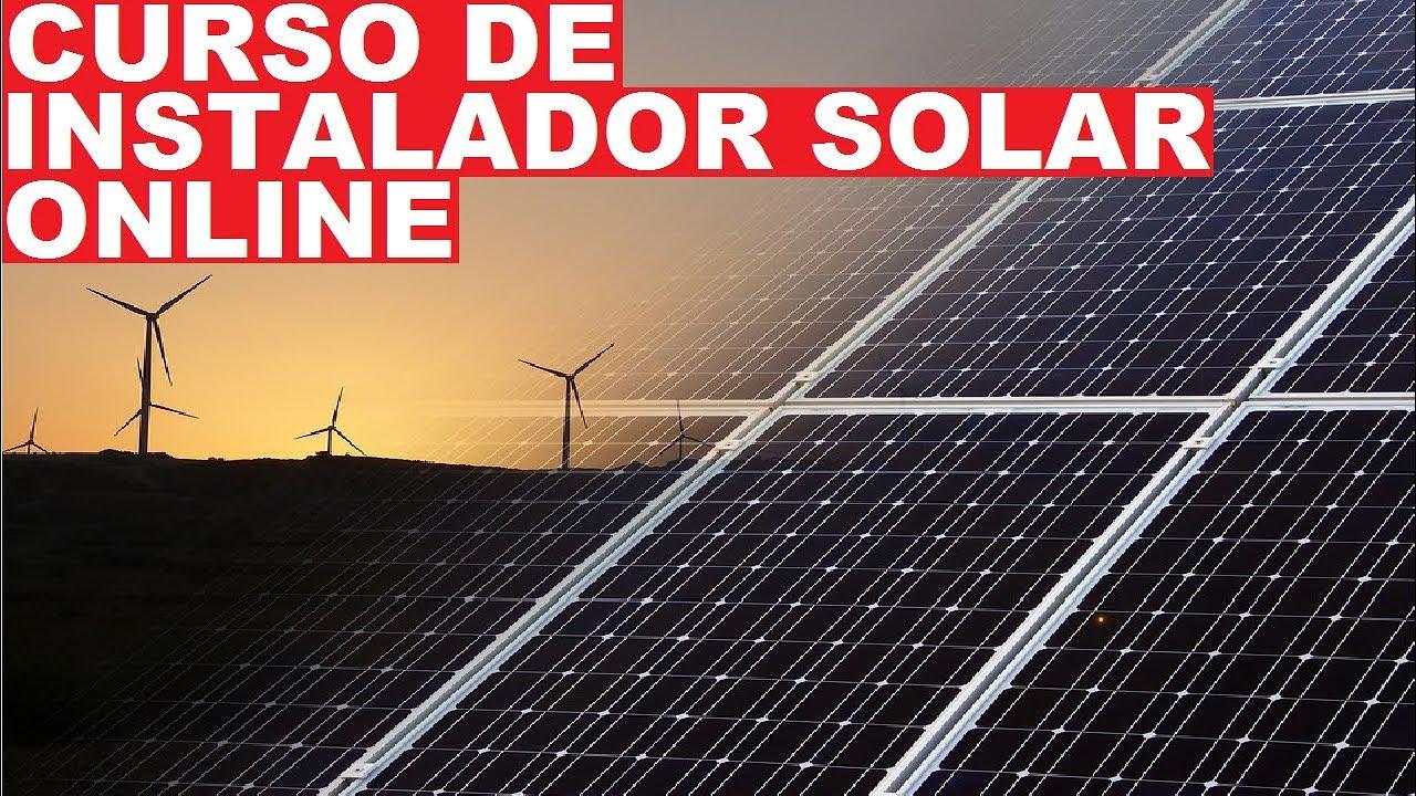 Curso De Instalação De Placa de Energia Solar O Melhor Curso De Instalação De Energia Solar