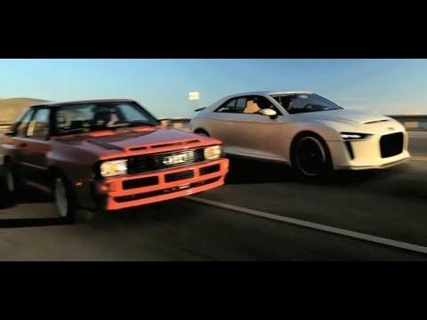 Audi quattro Concept Car 2010