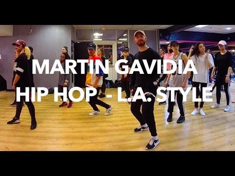 MARTIN GAVIDIA : Cours de danse Hip Hop / L.A. Style à Mov'n Dance