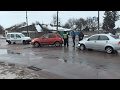 На перехресті у Житомирі зіштовхнулися три автомобілі- Житомир.info