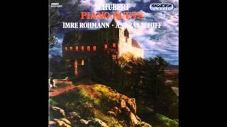 Imre Rohmann & András Schiff play Schubert:  Fantasy in F minor Op.103 D.940