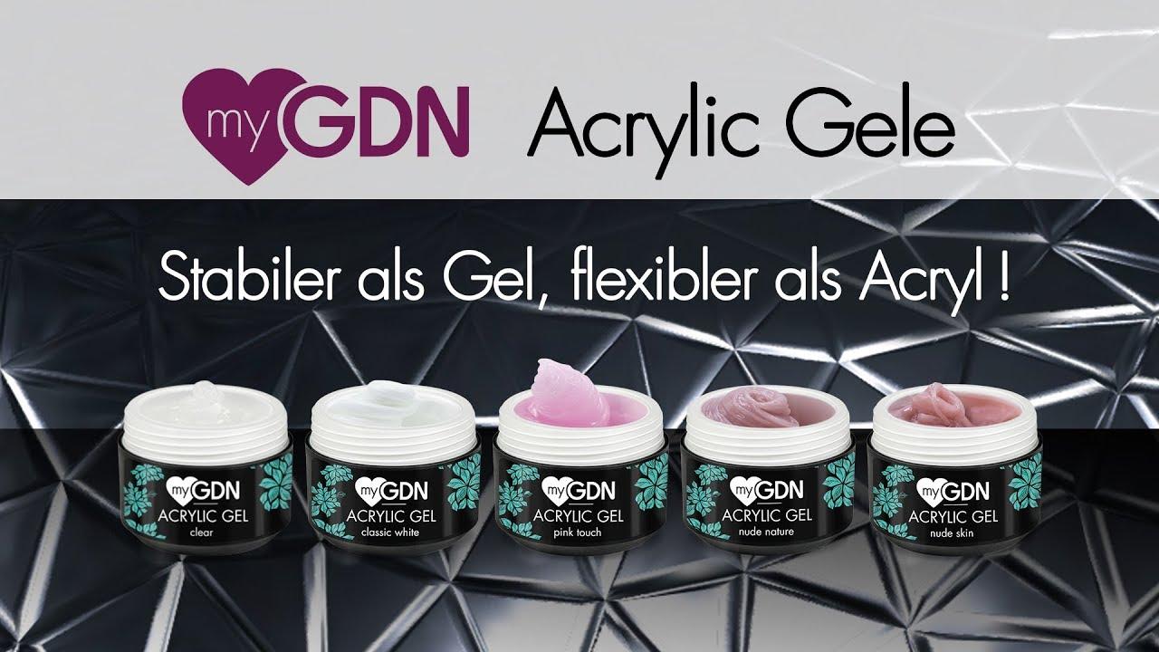 Mygdn Acrylic Gel Test Set
