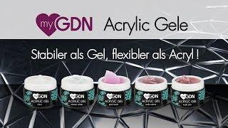 myGDN Acrylic Gele - Stabiler als Gel, flexibler als Acryl von GDN.de
