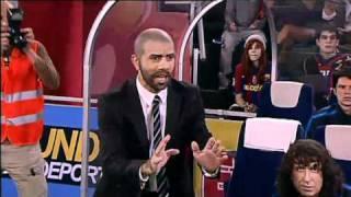 Nadal i Tomeu Penya miren el Barça-Mallorca  - Crackòvia - TV3