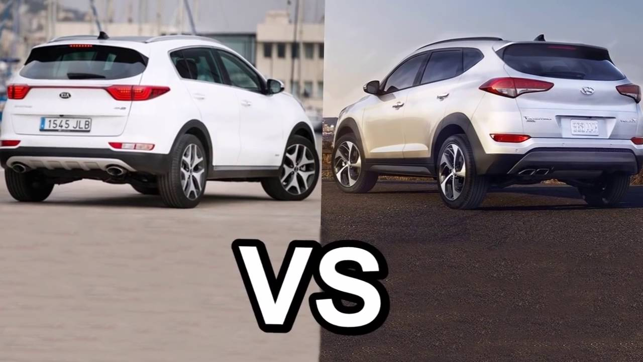 Tucson 2017 Vs Tucson 2018 >> 2017 Kia Sportage Vs 2016 Hyundai Tucson DESIGN! - YouTube