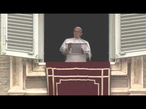 The Angelus Prayer with Pope Francis at St Peter's Square 1/11/2015