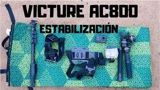 Victure Cámara Deportiva AC800: Estabilización