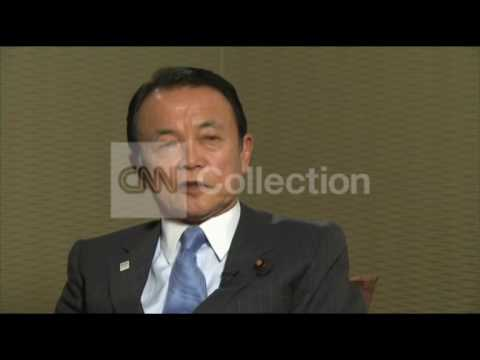 JAPANESE FINANCE MINISTER ON THE COUNTRY'S ECONOMY