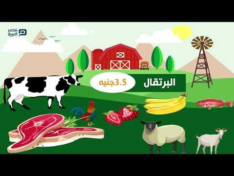 مصر العربية | أسعار الخضار والفاكهة واللحوم والاسماك والدواجن السبت 25-1-2020