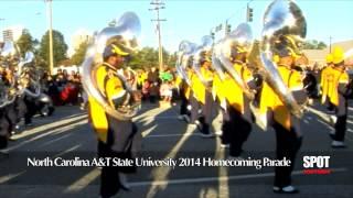 North Carolina A&T State University Homecoming Parade 2014