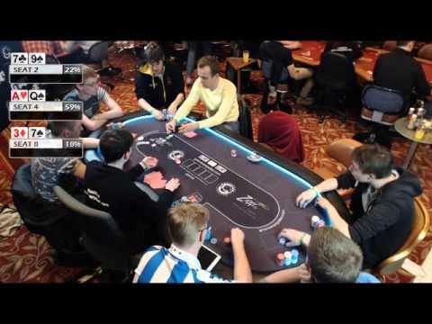 Grosvenor UK Student Poker Championships Day 1a
