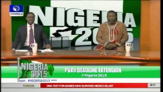 Nigeria 2015: Issues On Pvc Collection, Extension Ahead Of Polls Pt 2