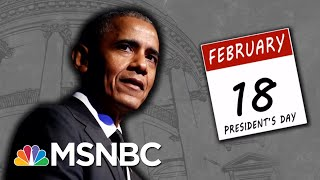 2020 Vision: Obama Counsels Democratic Presidential Candidates | MTP Daily | MSNBC
