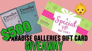 CLOSED!!!! FREE $500 Reborn Dolls Gift Card Giveaway To Paradise Galleries! Now thru Dec. 16, 2017!