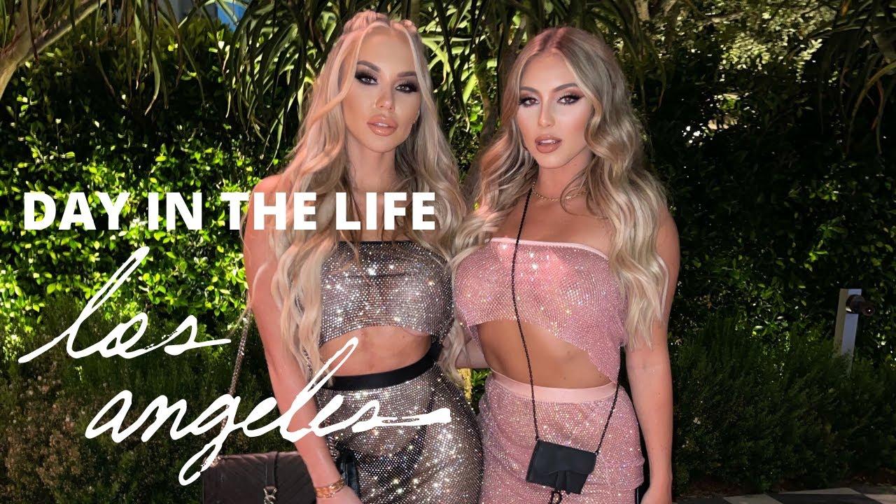 Day In The Life LA | Claudia Fijal & Daniel Stevens Hosting Babes in Toyland