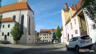 D: Kreisstadt Pfaffenhofen a.d.Ilm. Landkreis Pfaffenhofen a.d.Ilm. Kleine Stadtrundfahrt. Mai 2015