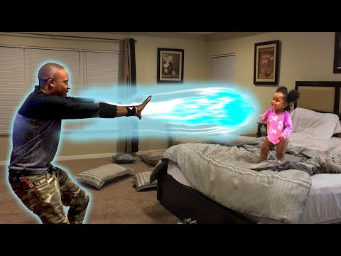 Amazing Dad Pretends to Have Super Powers Video 2016 | Daily Heart Beat