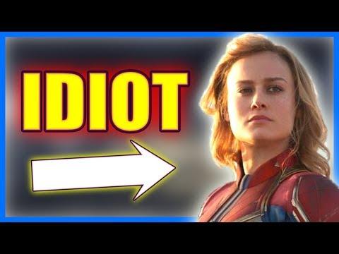 Brie Larson Ruins Avengers Endgame
