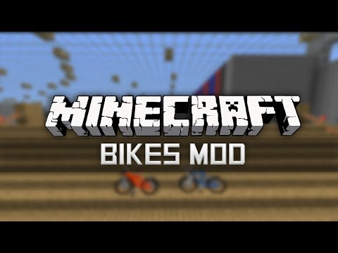 POKEMON BIKES MOD | Minecraft 1.7.4 Mod Showcase & Download