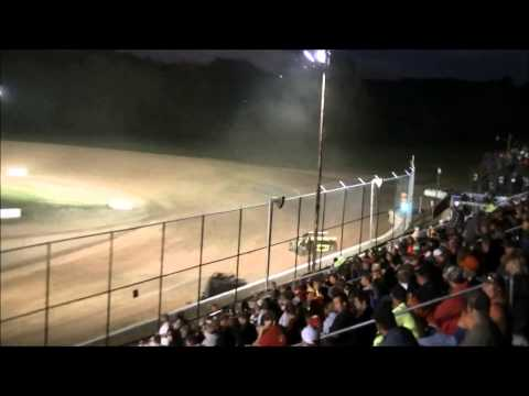 Muskingum County Speedway Modified Heat Race 06/06/2015