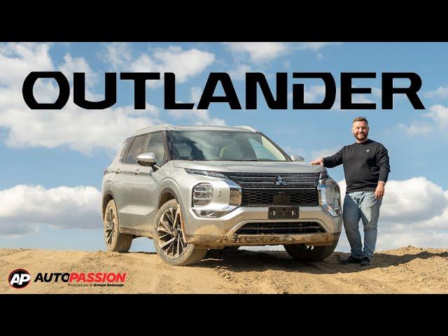 Mitsubishi Outlander 2022 - VUS Nouvelle Génération - Un retour dans les ligues majeures!