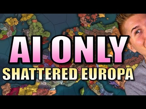 EU4 | SHATTERED EUROPE AI ONLY | Europa Universalis 4 - Mandate of Heaven Gameplay [Part 1] |