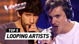Incredible LOOPING ARTISTS in The Blind Auditions of The Voice
