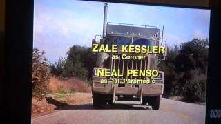 Murder She Wrote Closing Credits Late 80s