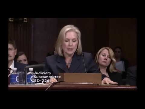 Senator Kirsten Gillibrand on Medical Cannabis