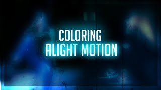 HOW TO MAKE SIMPLE COLORING ON ALIGHT MOTION | ANDROID & IOS