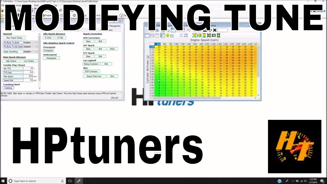 LT1 411 LS1 pcm swap part 6 Tuning with HPtuners - YouTube