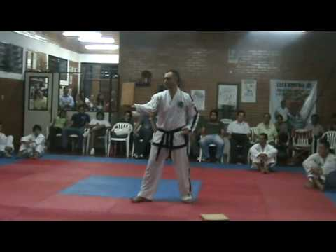 Marcelo Cataldo - Examen V Dan Taekwondo ITF
