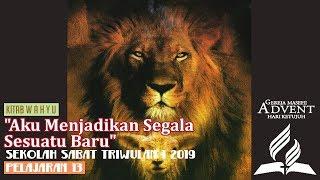 Sekolah Sabat Triwulan 1 2019 Pelajaran 13