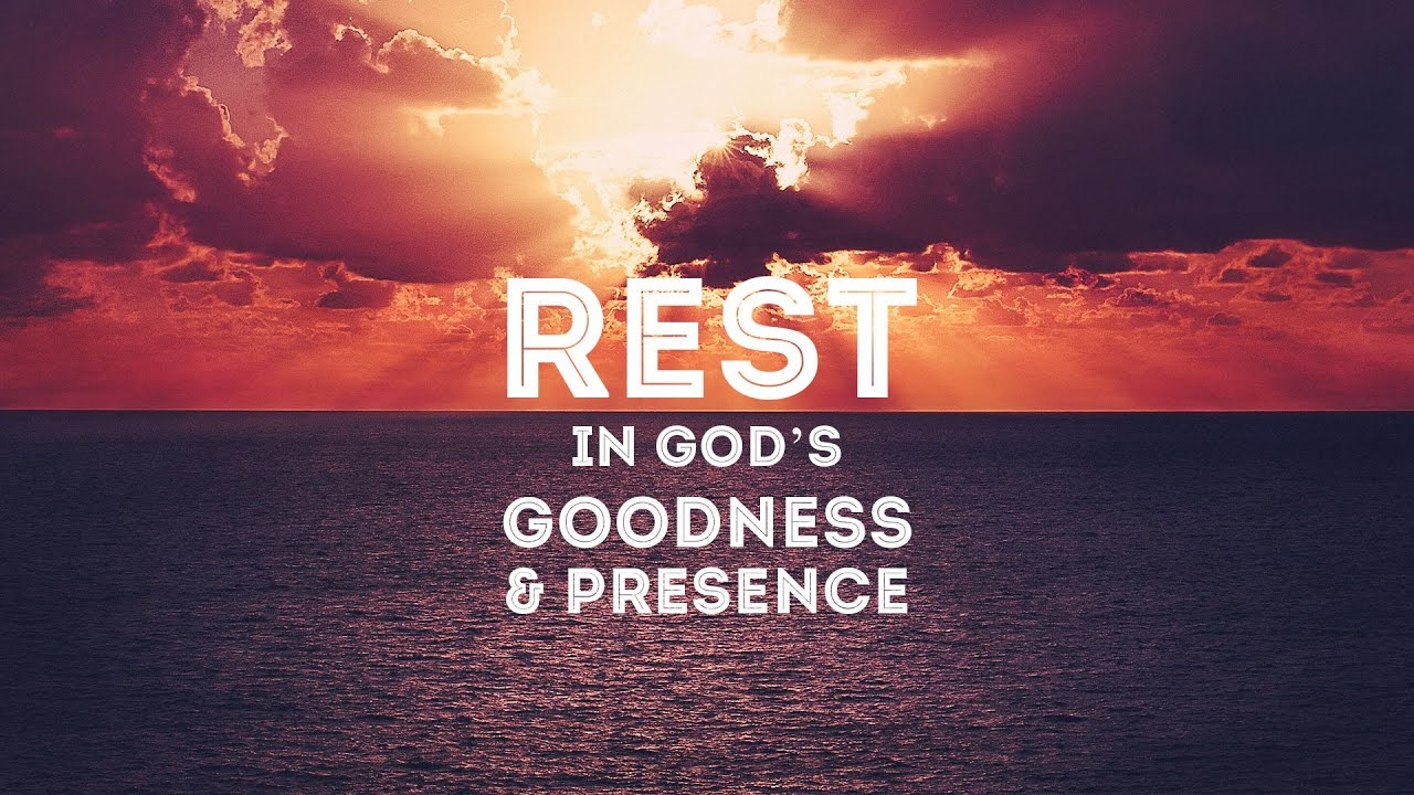 Image result for resting in god's presence