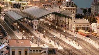 Le réseau de Train du Chemin de Fer Privé de la Mulatière