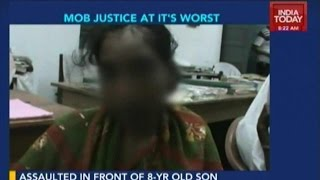 Woman Publicly Beaten In Tripura For Allegedly Being A Prostitute