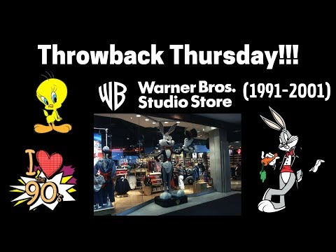 Throwback Thursday: Warner Bros. Store!!! 🐰🥕🎨