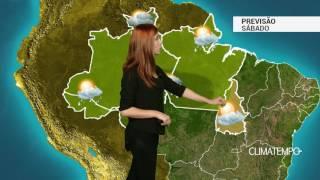 Previsão Norte - Chuva à tarde em grande parte da região