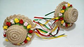 Aprenda a Fazer Um Lindo Chapéu Junino de Crochê