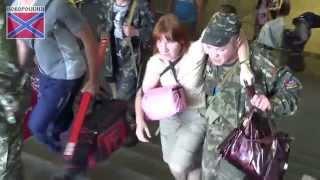 обстрел Донецка 21 июня 2014