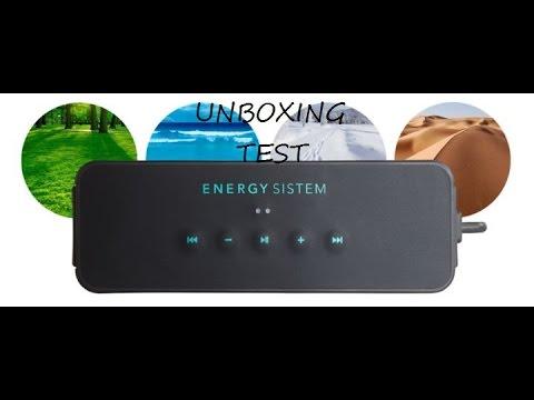 DEBALLAGE / TEST : Enceinte ENERGY MUSIC BOX AQUATIC BLUETOOTH