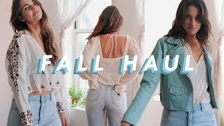 Try On Fall Haul | thrifted & more