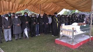 پاک بحریہ کے سابق سربراہ ایڈمرل فصیح بخاری کو اسلام آباد میں فوجی اعزاز کے ساتھ سپرد خاک کر دیا گیا