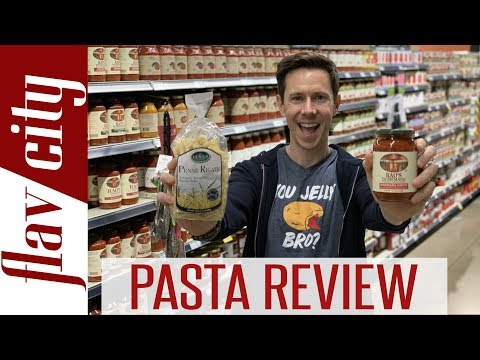The BEST Pasta & Sauce To Buy At The Grocery Store...And What To Avoid!