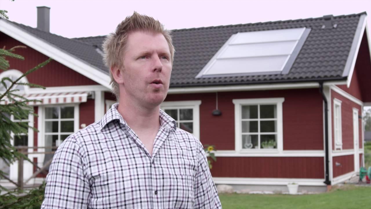 Solvärme från Svesol - YouTube