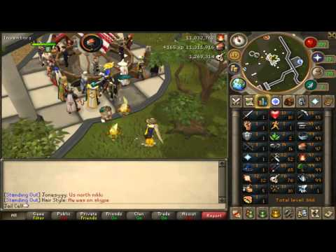 RuneScape Cooking Monkfish Sped Up!!