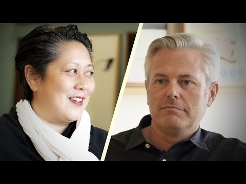 Sean Adams and Noreen Morioka: 2014 AIGA Medalists